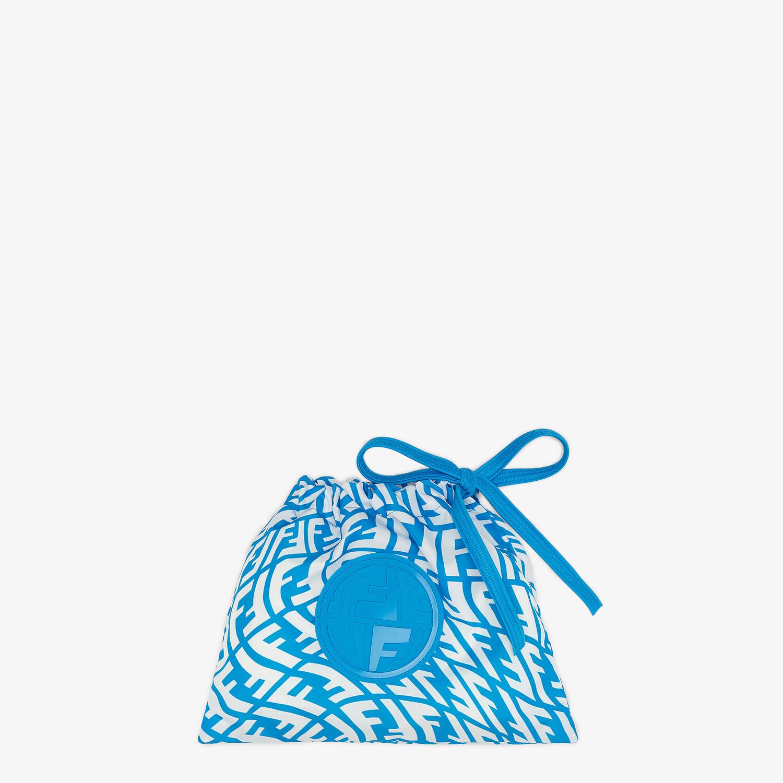 FENDI BIKINI - Light blue Lycra® bikini - view 4 detail