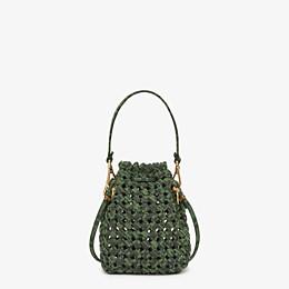 FENDI MON TRESOR - Jacquard fabric interlace mini-bag - view 4 thumbnail