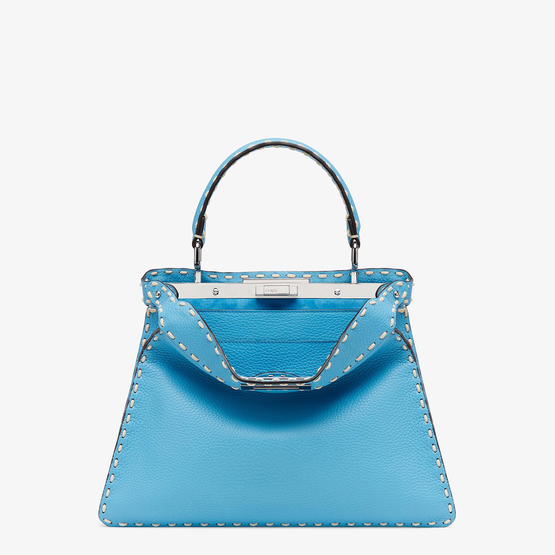 FENDI PEEKABOO ISEEU MEDIUM - Blue full grain leather bag - view 1 detail