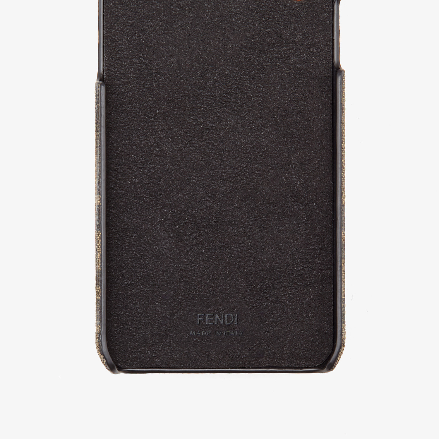 FENDI iPHONE X CASE - Brown cover - view 2 detail