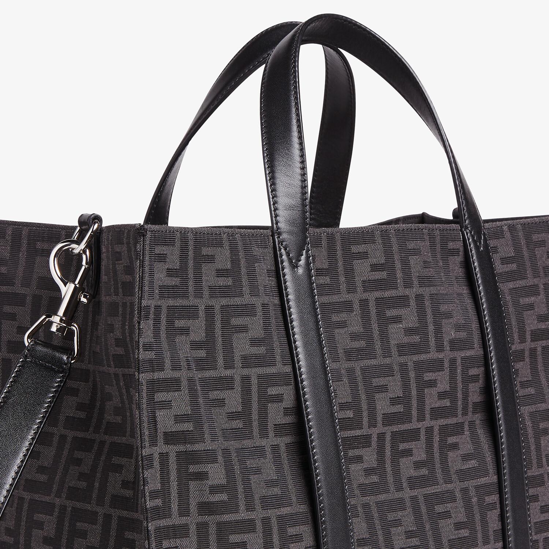 FENDI SHOPPER - FF jacquard fabric bag - view 5 detail