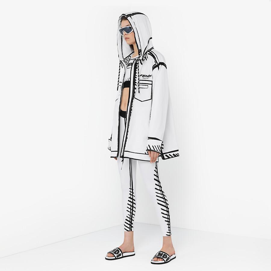 FENDI LEGGINGS - Fendi Roma Joshua Vides tech fabric leggings - view 4 detail