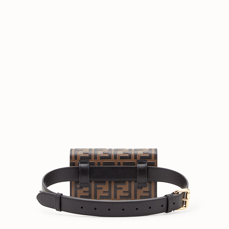 FENDI BELT BAG - Multicolour leather belt bag - view 4 detail