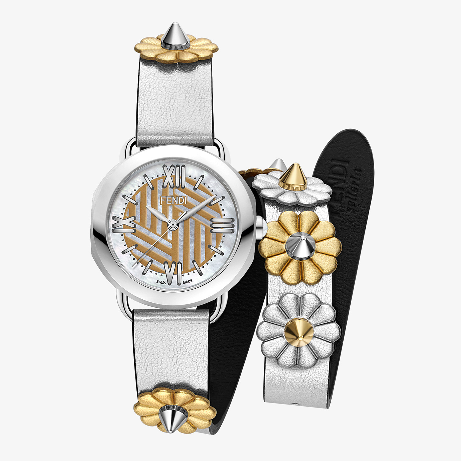 FENDI SELLERIA STRAP YOU - Interchangeable double tour strap - view 2 detail