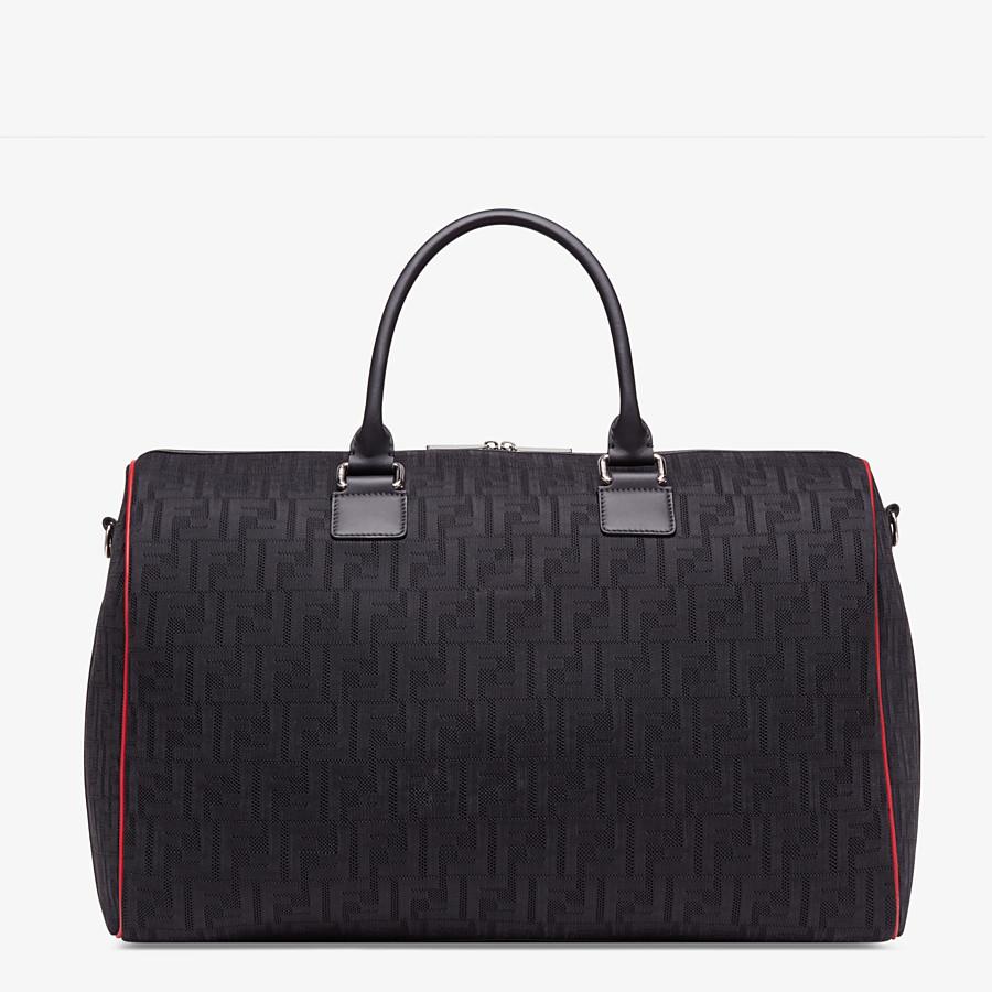FENDI TRAVEL BAG - Large bag in black tech fabric - view 1 detail