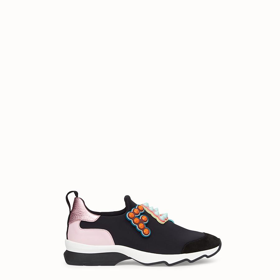 FENDI SNEAKERS - Sneakers en tissu technique noir - view 1 detail