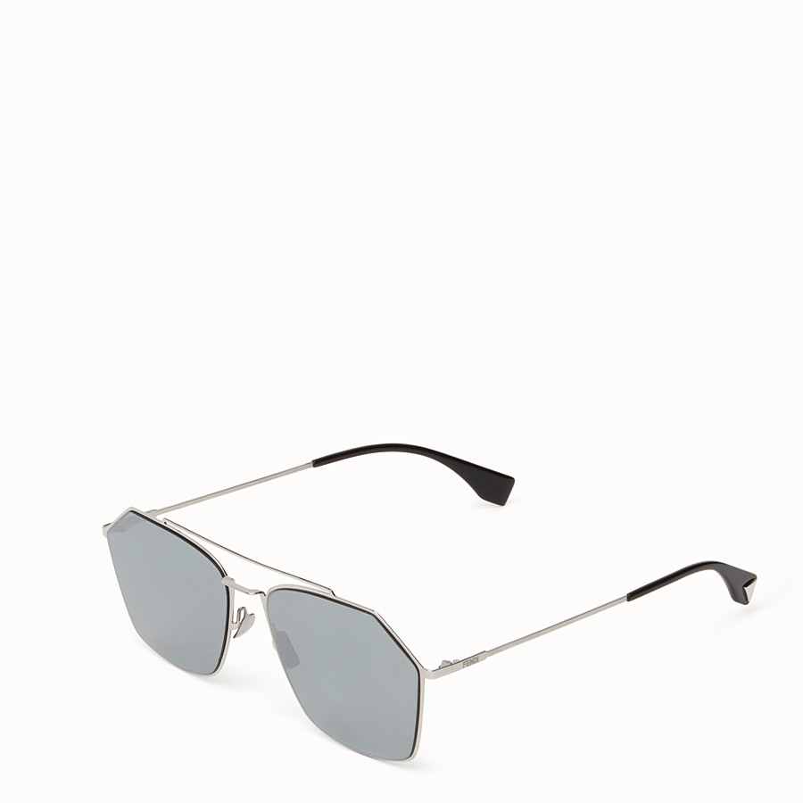 FENDI EYELINE - Ruthenium Asian fit sunglasses - view 2 detail