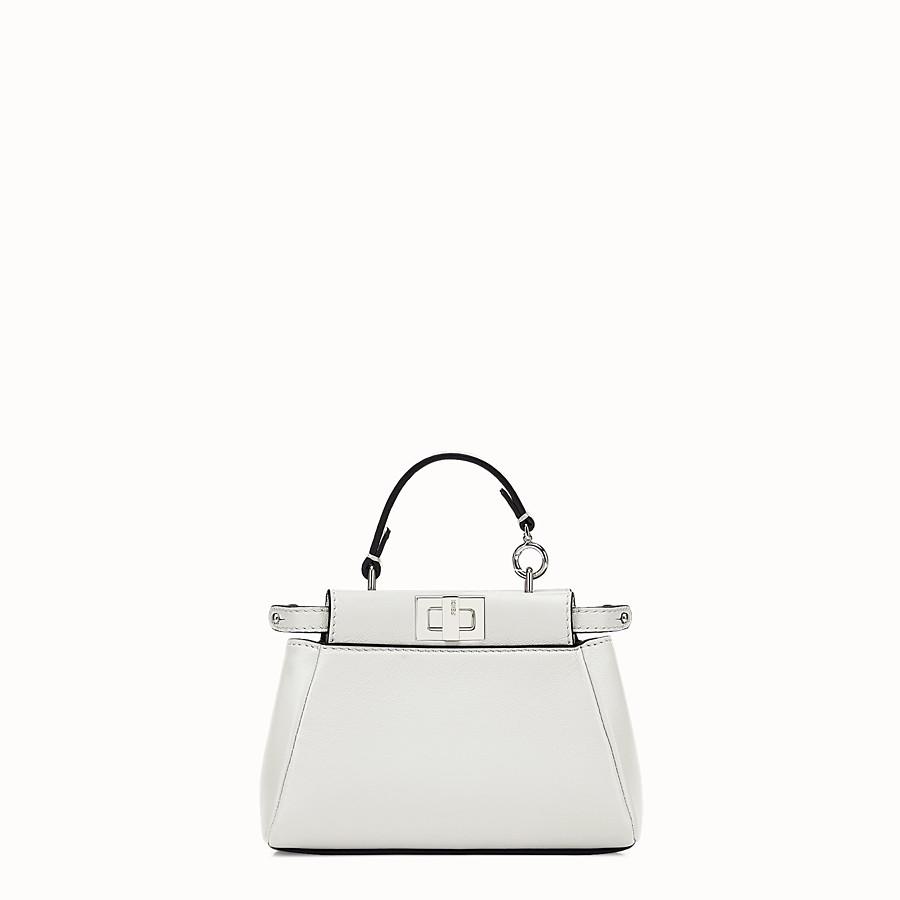micro bag in white leather - MICRO PEEKABOO  9759d2fef7353