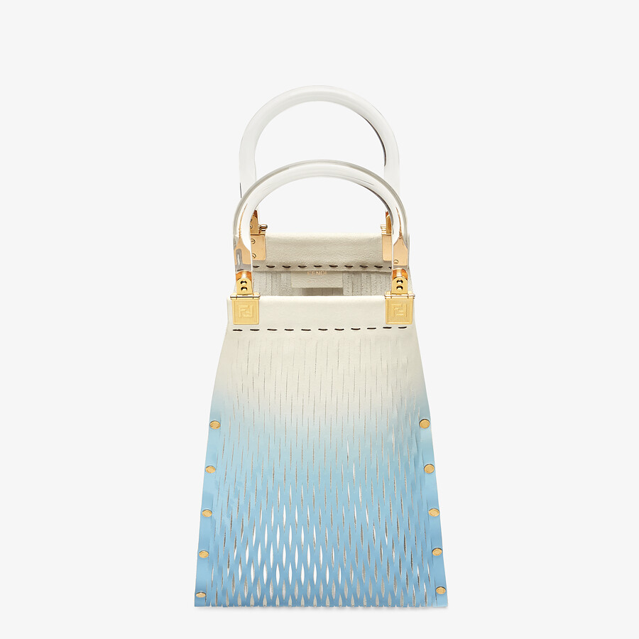 FENDI FENDI SUNNY - Two-toned patent leather shopper - view 5 detail