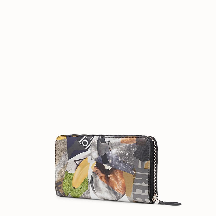 FENDI WALLET - Multicolor leather wallet - view 2 detail