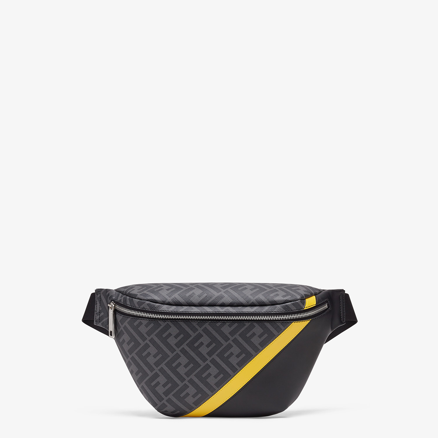 FENDI BELT BAG - Gray fabric belt bag - view 1 detail