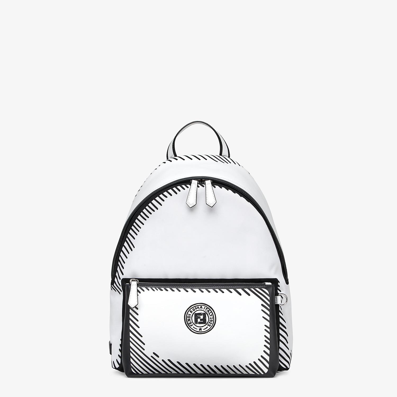 FENDI BACKPACK - Fendi Roma Joshua Vides nylon backpack - view 1 detail
