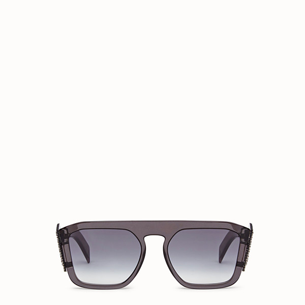 FENDI FFREEDOM - Gray sunglasses - view 1 small thumbnail