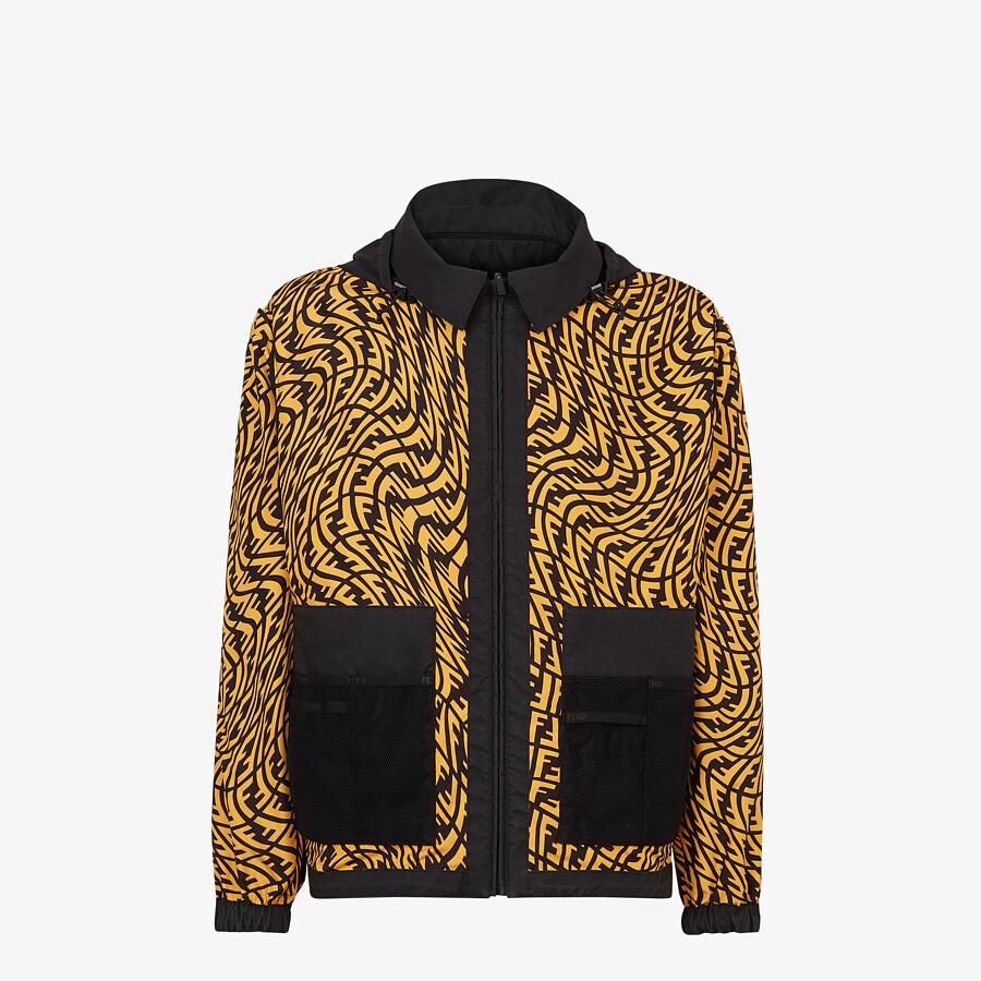 FENDI WINDBREAKER - Multicolour nylon jacket - view 4 detail