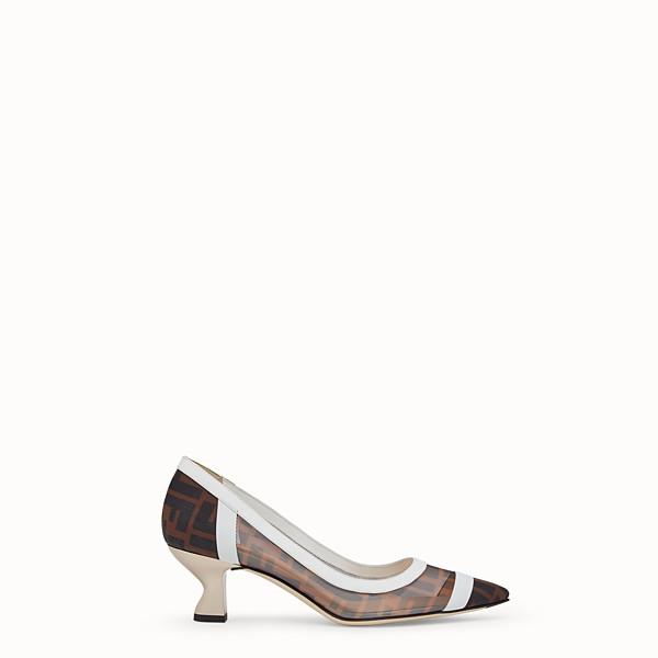 a4e46f7074 Leather Heels and Pumps - Women's Designer Shoes   Fendi