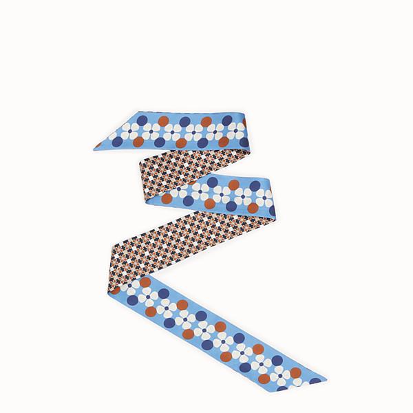 FENDI WRAPPY - Beige silk bandeau - view 1 small thumbnail