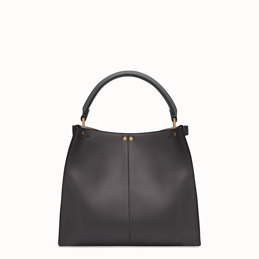 FENDI PEEKABOO X-LITE MEDIUM - Tasche aus Leder in Schwarz - view 4 detail