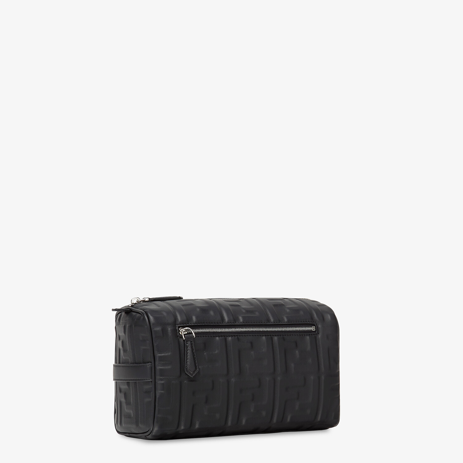 FENDI TRAVEL CASE - Black nappa leather toiletry case - view 2 detail