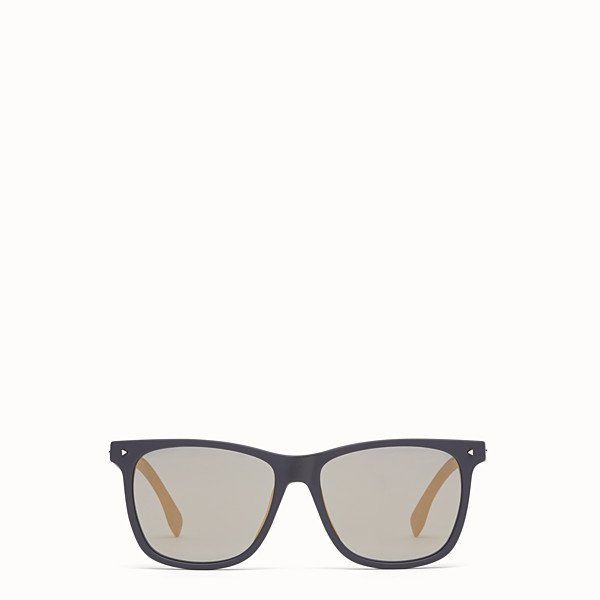 FENDI FENDI SUN FUN - Rectangular havana sunglasses - view 1 small thumbnail