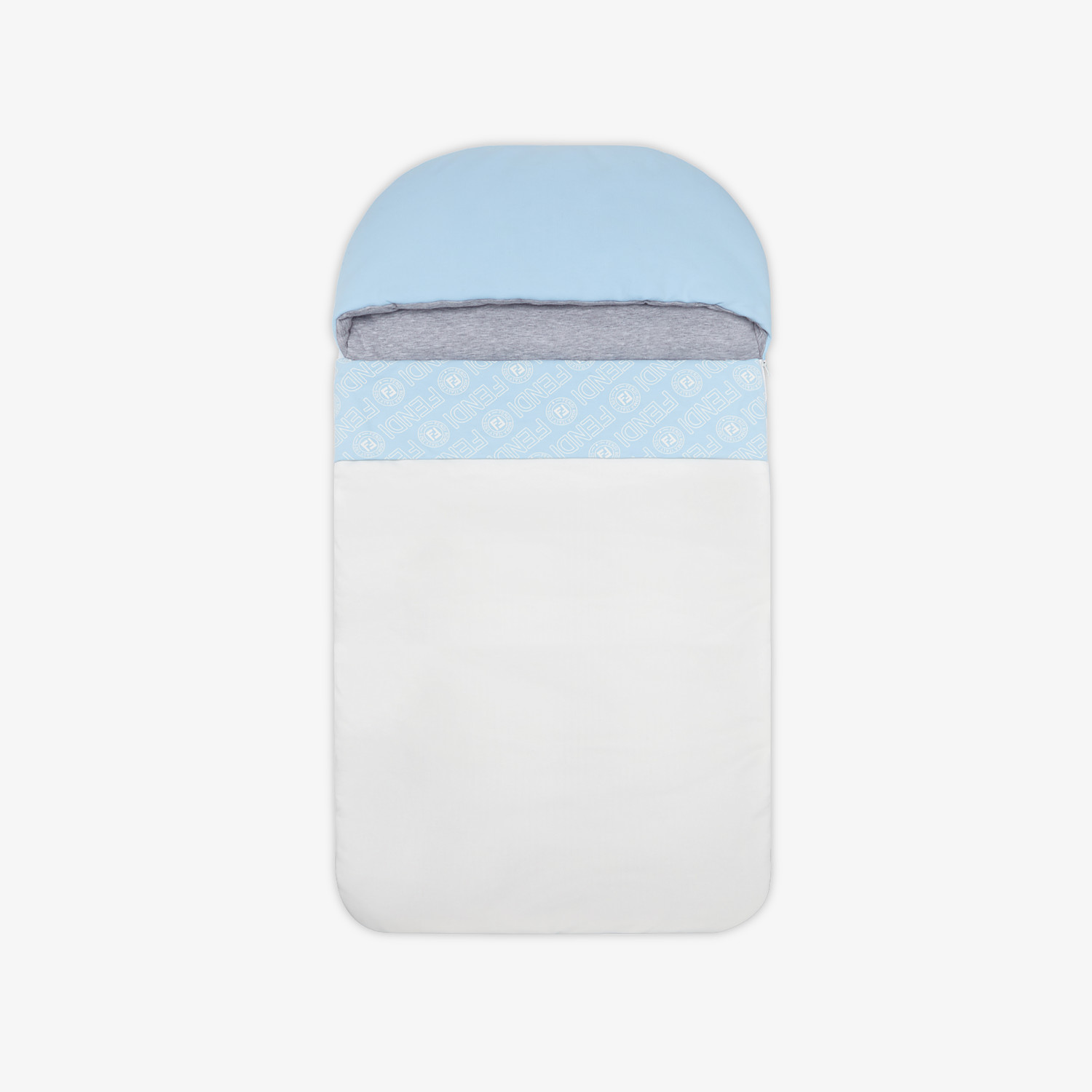 FENDI SLEEPING BAG - Light blue cotton sleeping bag - view 1 detail