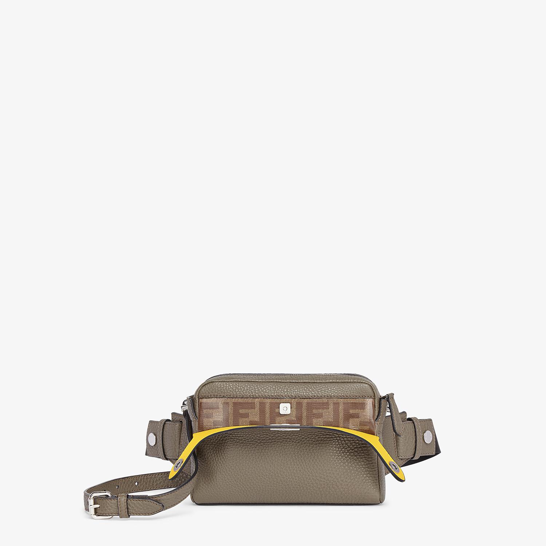 FENDI BELT BAG - Green leather belt bag - view 2 detail
