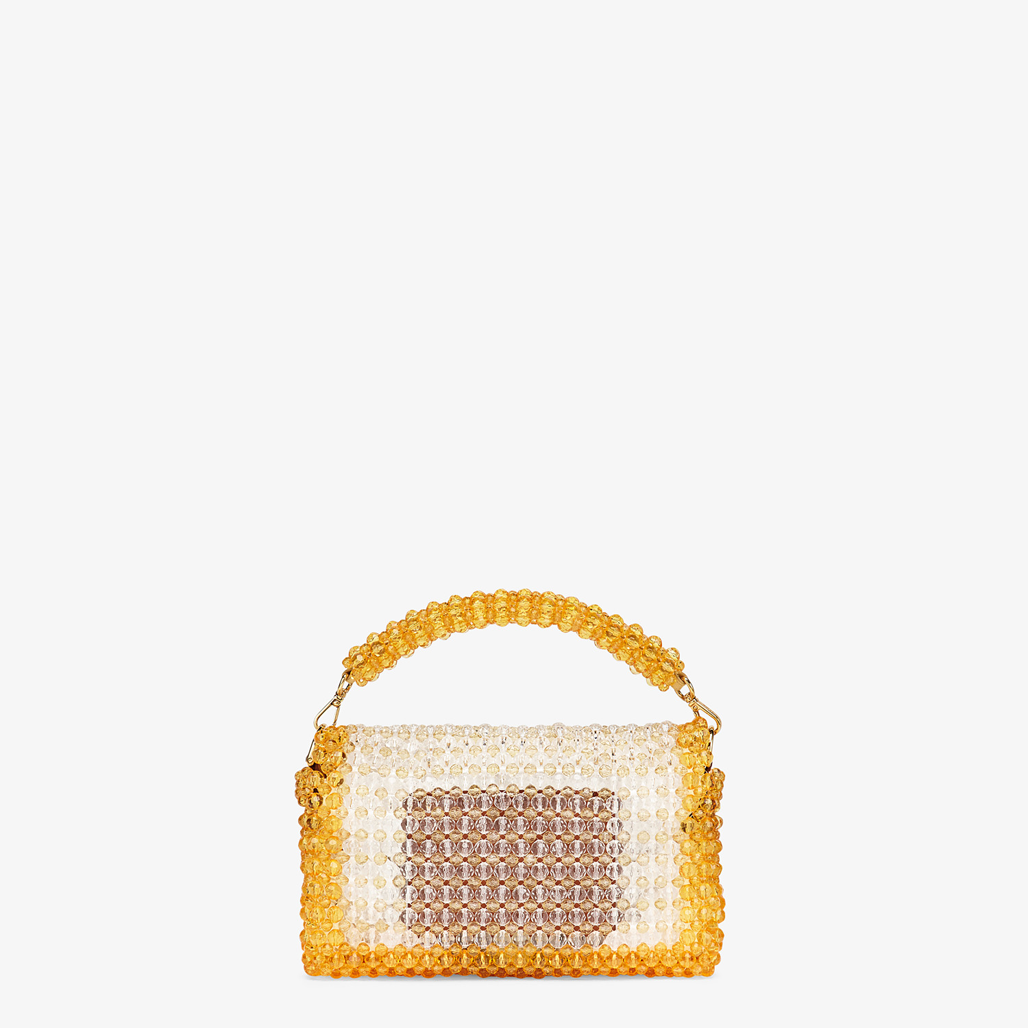 FENDI BAGUETTE - Bag with yellow beads - view 3 detail