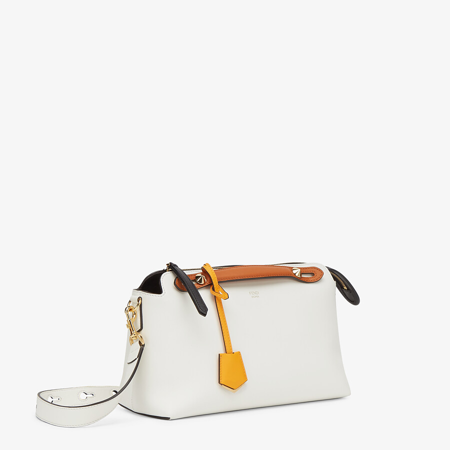 FENDI BY THE WAY MEDIUM - Multicolor leather Boston bag - view 3 detail