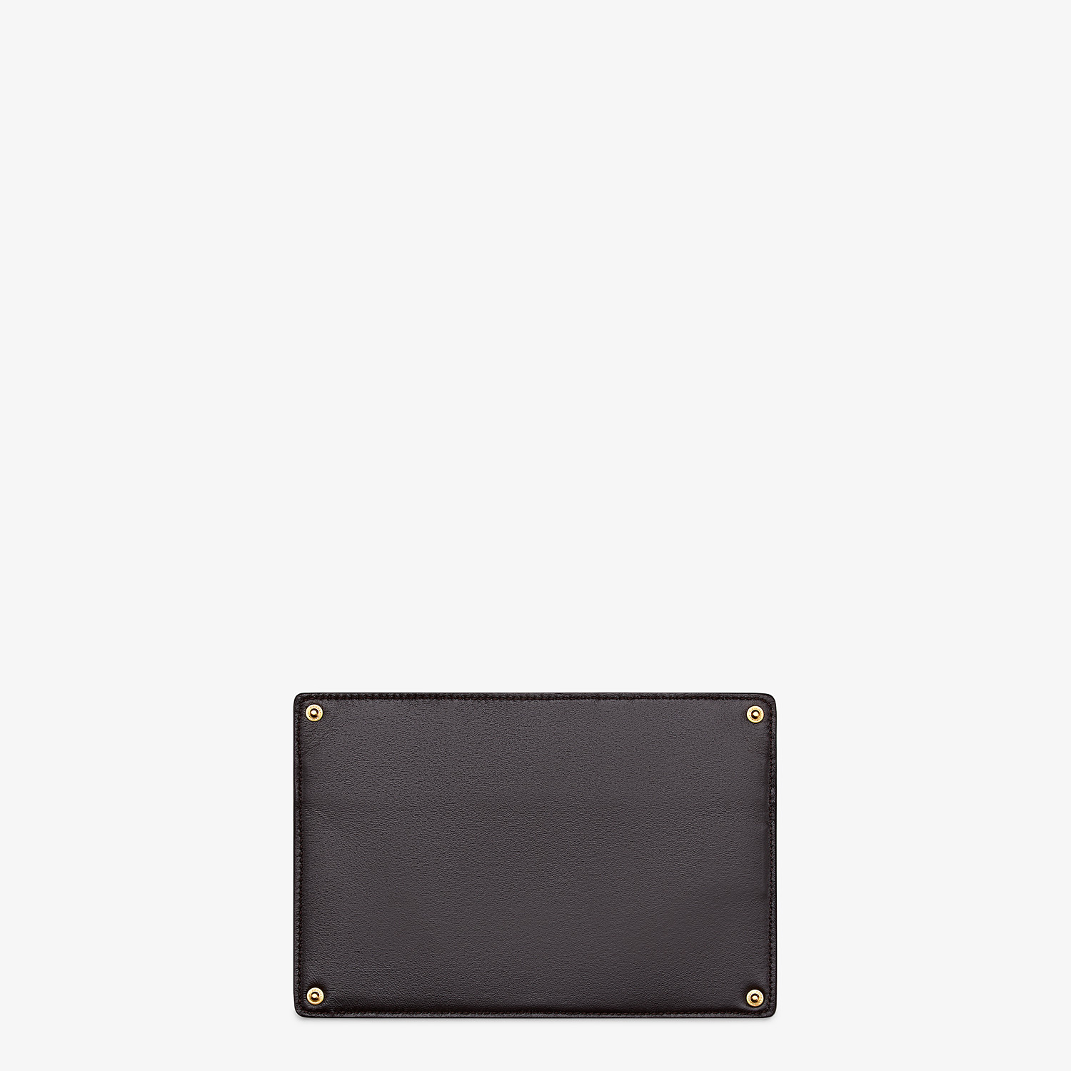 FENDI PEEKABOO POCKET - Accessory pocket in green elaphe - view 2 detail