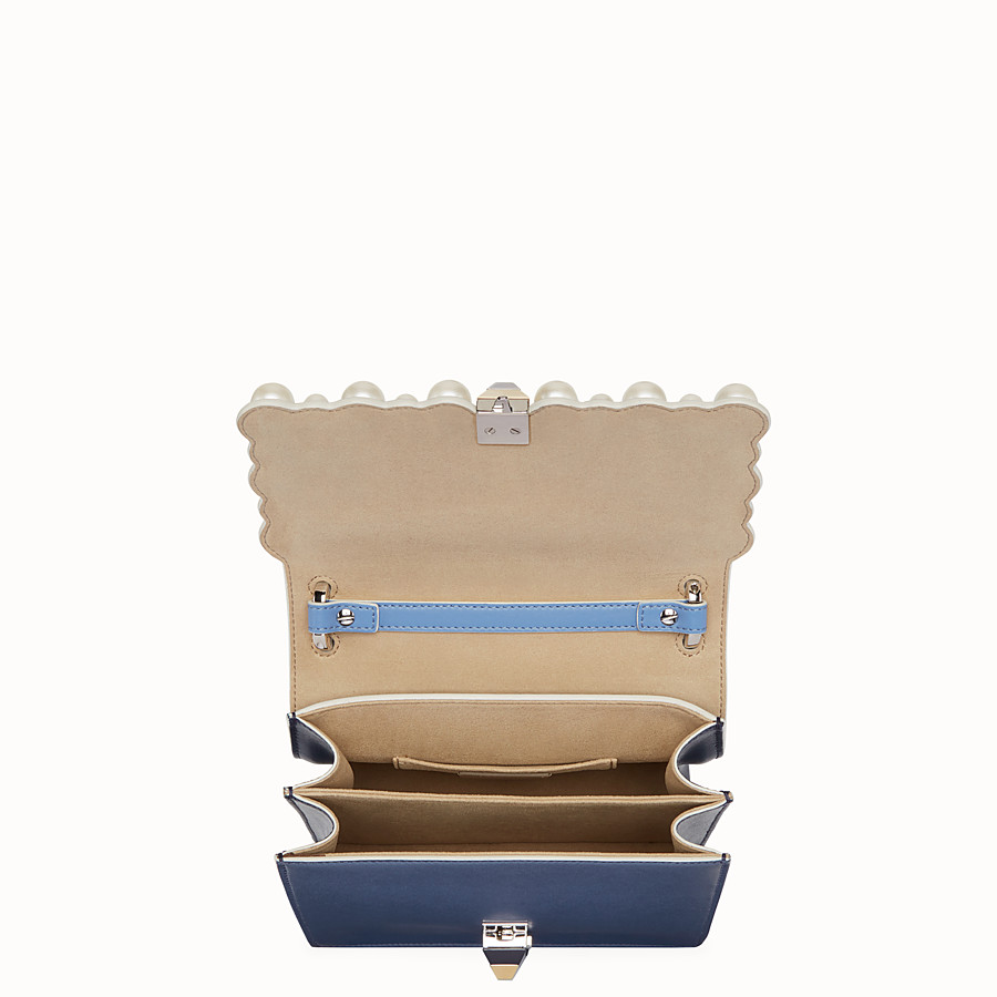 FENDI KAN I SMALL - Multicolour leather mini-bag - view 4 detail