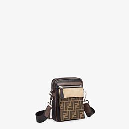 FENDI MESSENGER - Black nylon bag - view 3 thumbnail