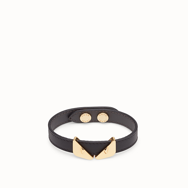 FENDI BRACELET - Black bracelet - view 1 small thumbnail