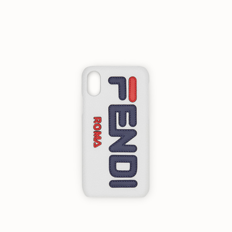 FENDI iPHONE X CASE - White cover - view 1 detail