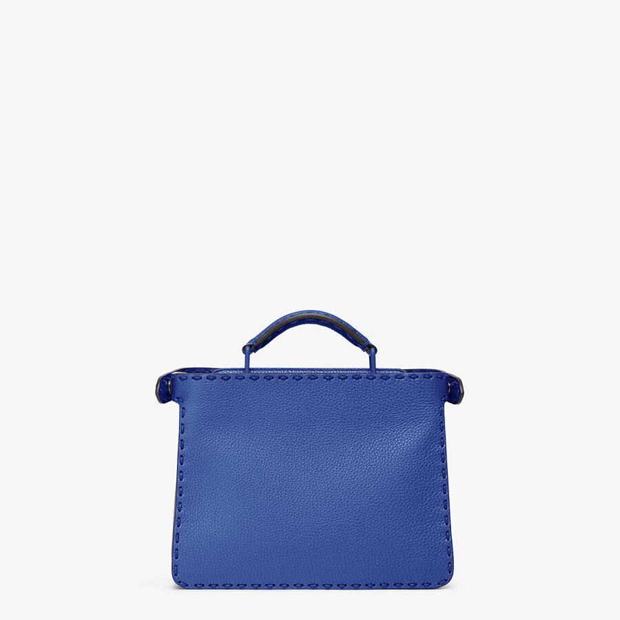 FENDI PEEKABOO ISEEU MINI - Blue leather bag - view 4 detail