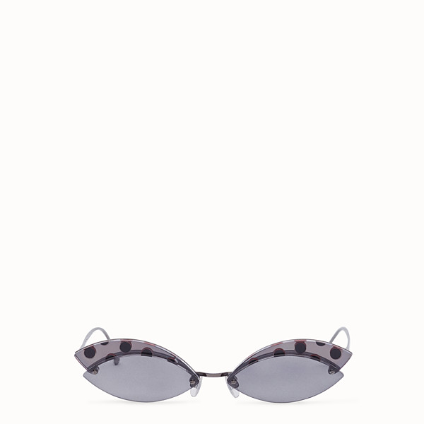 FENDI DEFENDER - Polka dots sunglasses - view 1 small thumbnail