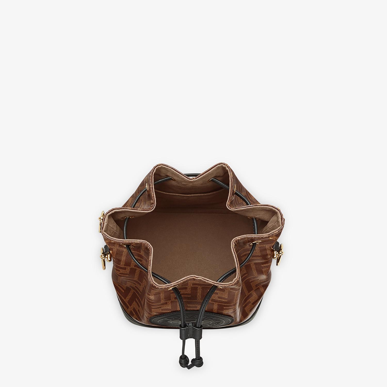FENDI MON TRESOR - Tasche aus Stoff Mehrfarbig - view 4 detail