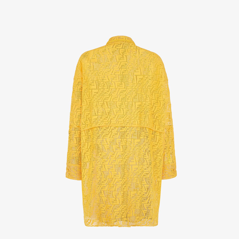 FENDI DRESS - Yellow lace dress - view 2 detail