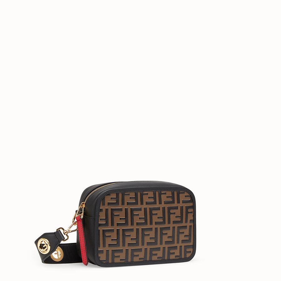 FENDI CAMERA CASE - Multicolour leather bag - view 2 detail