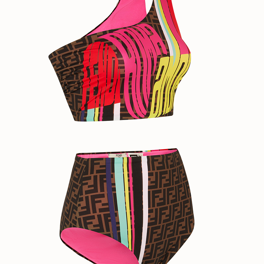 FENDI SWIMSUIT - Fendi Roma Amor Lycra® bikini - view 3 detail