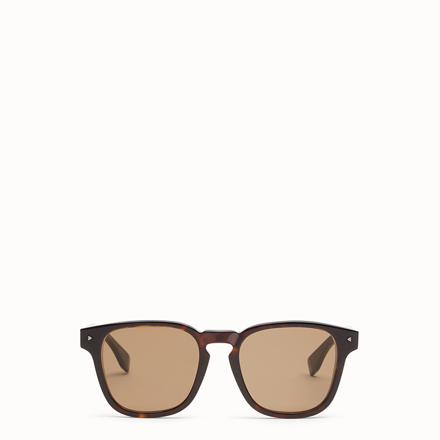 FENDI I SEE YOU - Lunettes de soleil havane - view 1 detail
