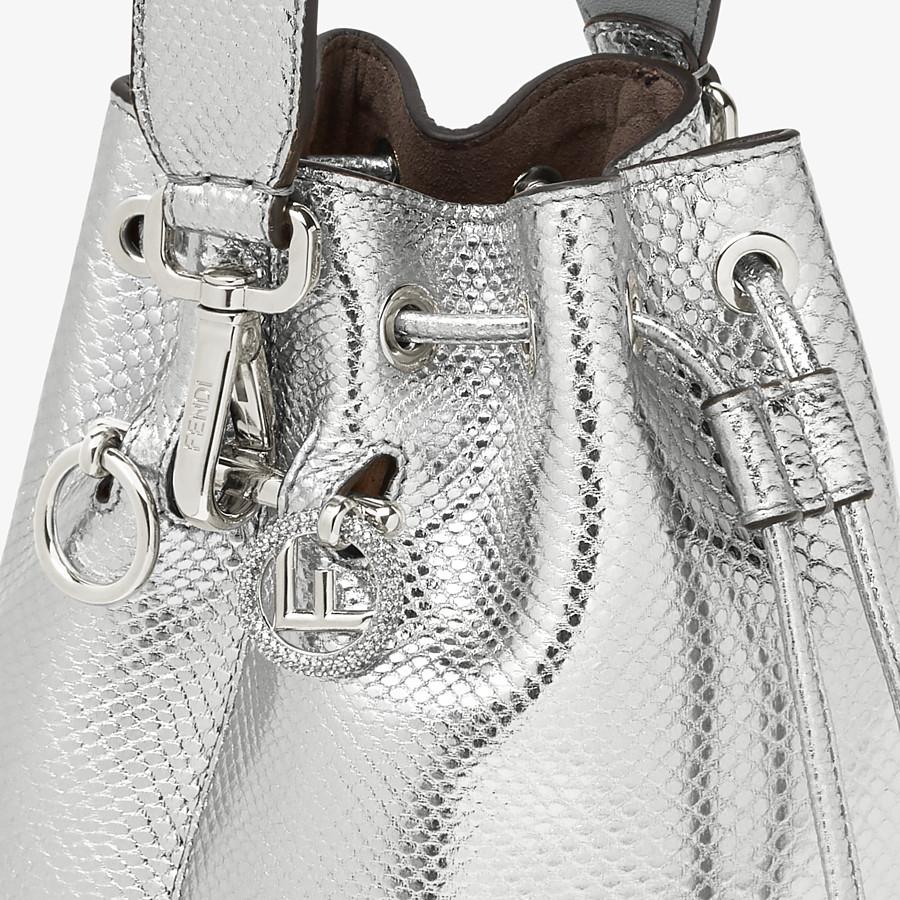 FENDI MON TRESOR - Silver karung mini bag - view 5 detail