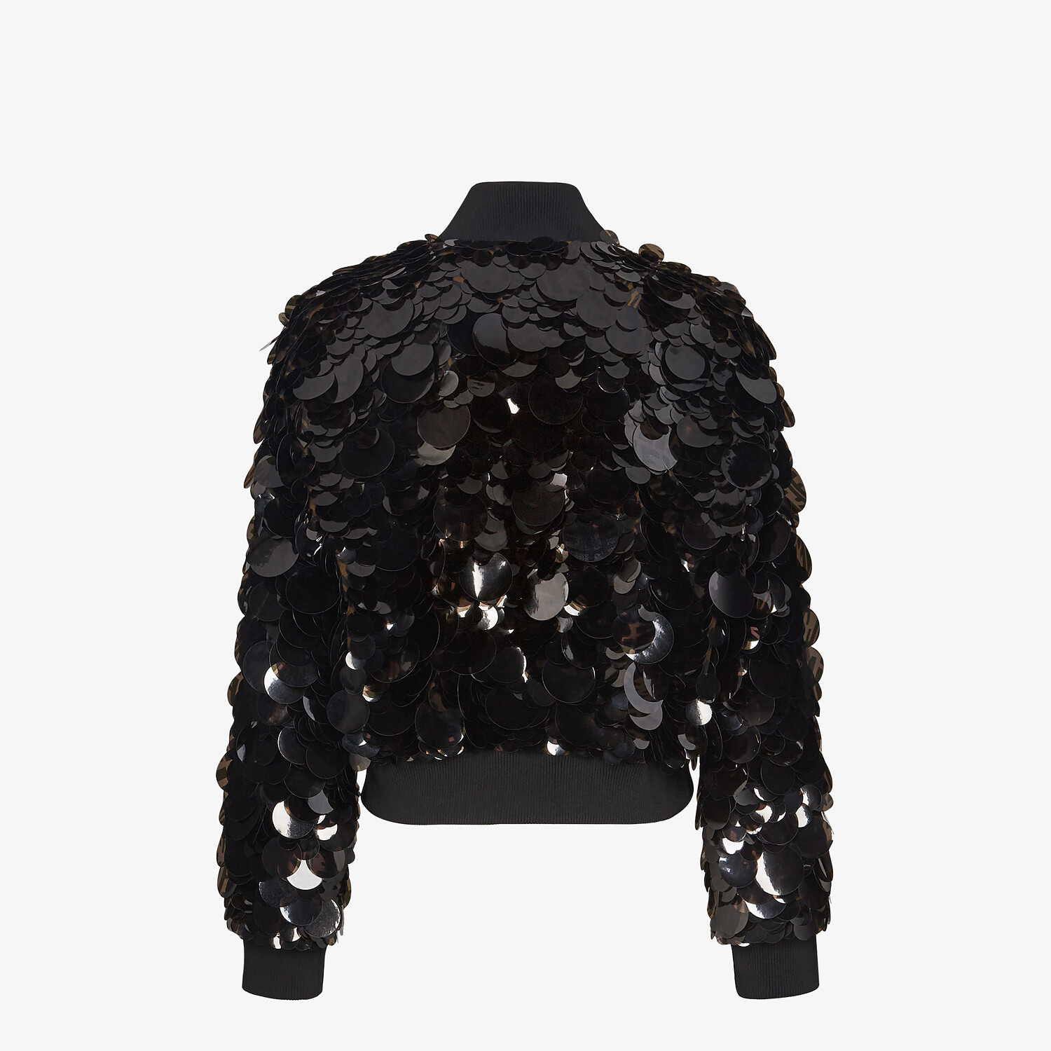 FENDI JACKET - Bomber jacket with FF sequins. - view 2 detail