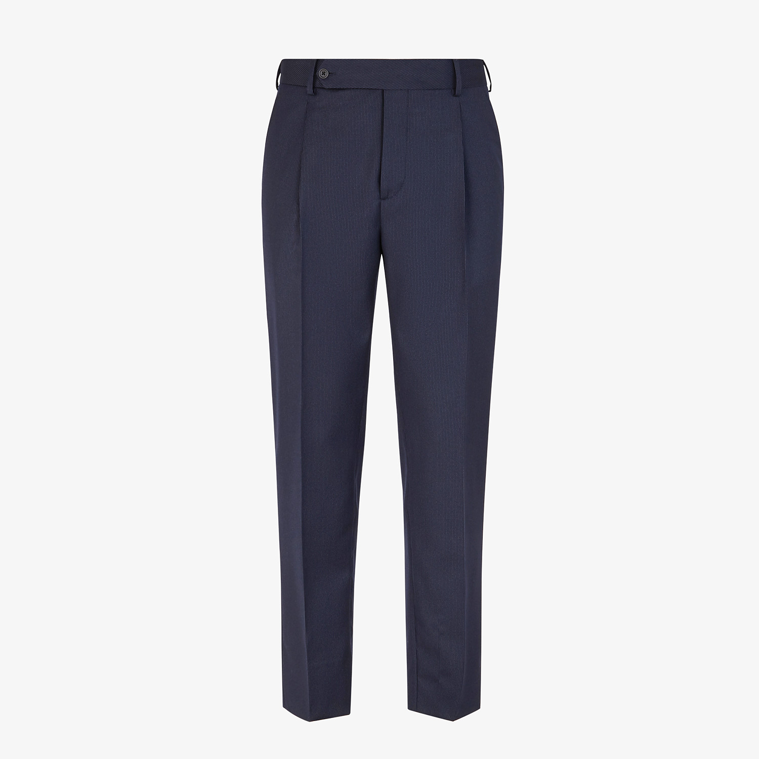 FENDI TROUSERS - Multicolour wool and silk trousers - view 1 detail