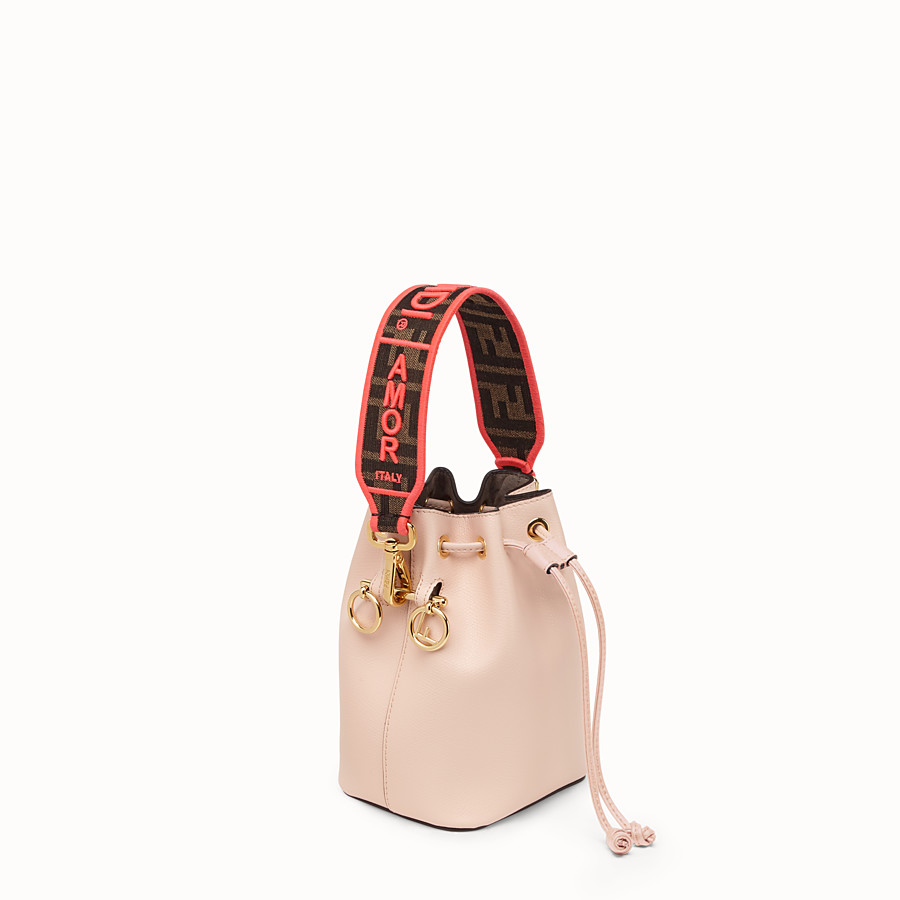 FENDI MINI STRAP YOU - Fendi Roma Amor fabric shoulder strap - view 2 detail
