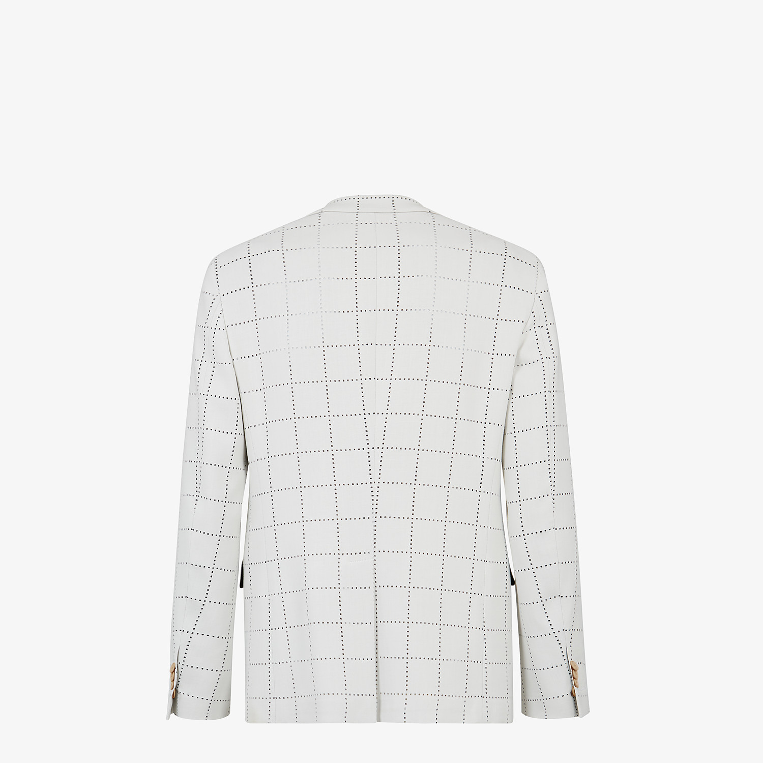 FENDI JACKET - White wool blazer - view 2 detail