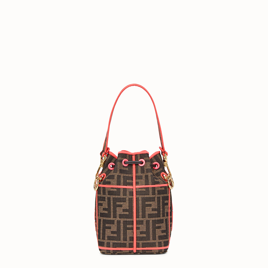 FENDI MON TRESOR - Fendi Roma Amor fabric mini-bag - view 4 detail