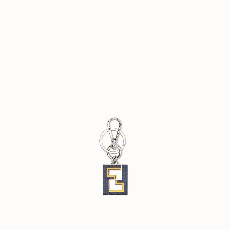 FENDI KEY RING - Metal key ring with exotic details - view 1 detail