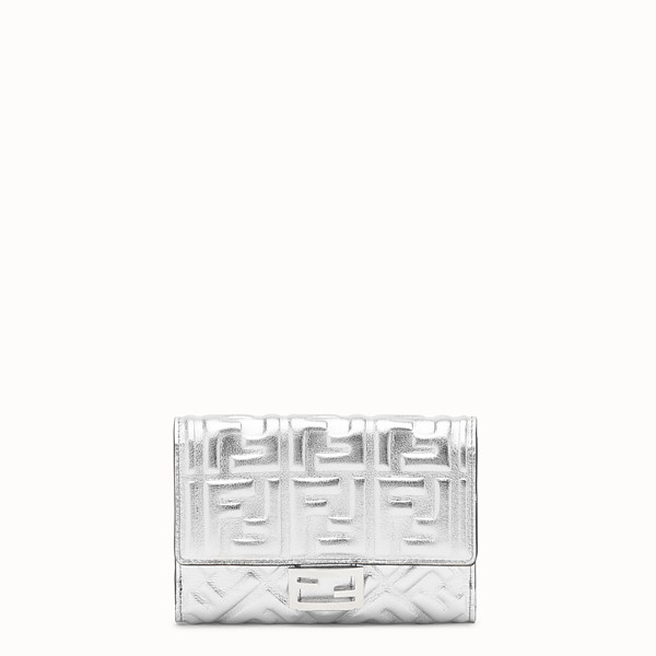FENDI WALLET - Silver leather wallet - view 1 small thumbnail