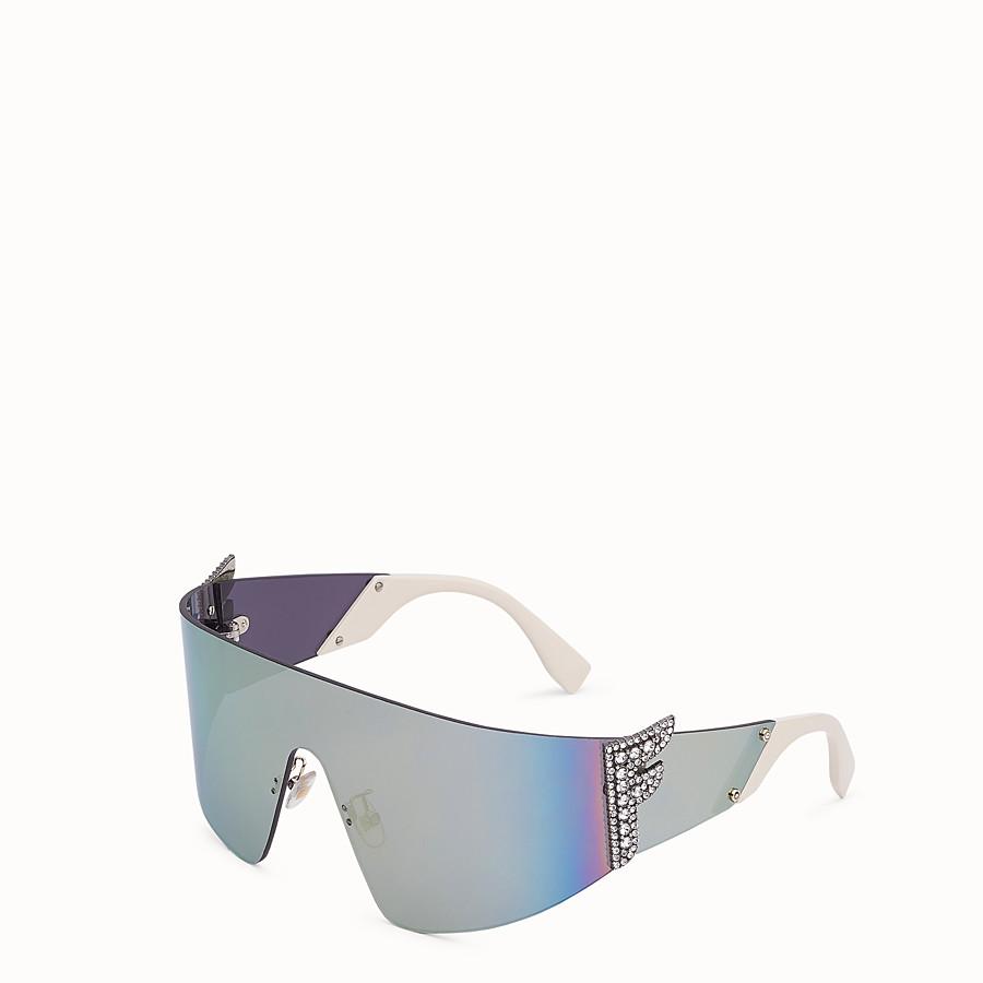 FENDI FFREEDOM - Gray sunglasses - view 2 detail