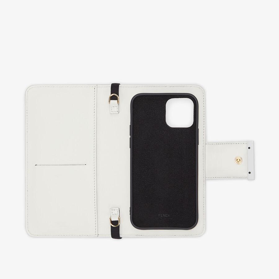 FENDI SMARTPHONE CASE - Fendi X Chaos nappa leather cover - view 3 detail