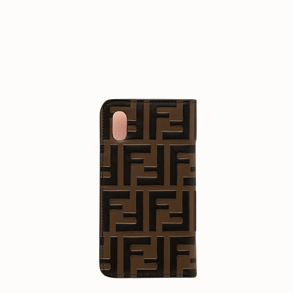 FENDI IPHONE X CASE - Multicolor flip cover - view 1 small thumbnail